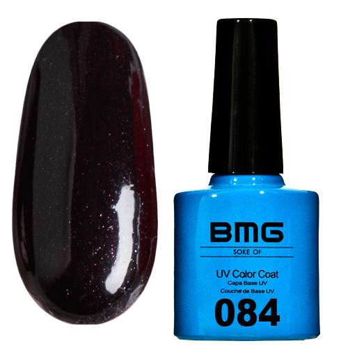 картинка Гель-лак BMG – Черный с янтарно-серебряным микроблеском от магазина Gumla.ru
