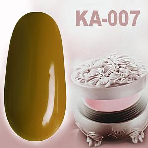 картинка KAGA - цветной гель. KA-007 магазин Gumla.ru являющийся официальным дистрибьютором в России